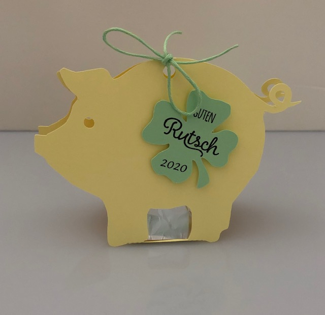 Glücksschwein/gelb
