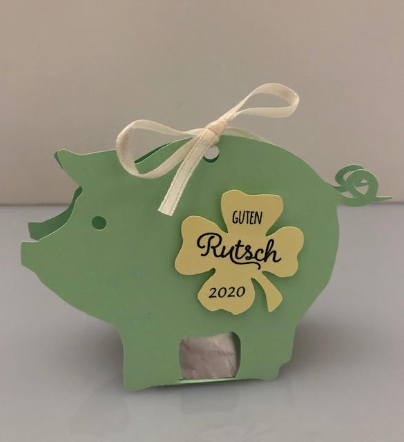 Glücksschwein/grün